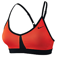 Buy Nike Pro Indy Colourblock Sports Bra Online at johnlewis.com