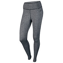 Buy Nike Pro Hyperwarm Limitless Running Tights, Black/Grey Online at johnlewis.com