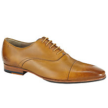 Buy Oliver Sweeney Vechten Leather Lace-Up Oxford Shoes, Tan Online at johnlewis.com