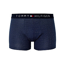 Buy Tommy Hilfiger Icon Polka Dot Trunks, Navy Online at johnlewis.com