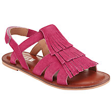 Buy John Lewis Children's Suede Tassel Sandals Online at johnlewis.com