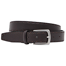 Buy Reiss Casino Belt, Brown Online at johnlewis.com
