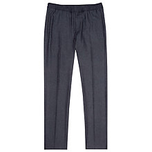 Buy Reiss Elasticated Trousers, Navy Online at johnlewis.com