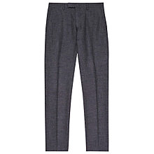 Buy Reiss Wool Fleck Trousers, Grey Online at johnlewis.com