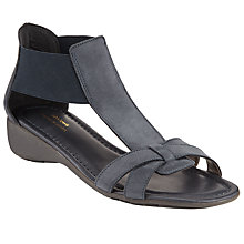 Buy John Lewis Designed for Comfort Macaw Sandals, Navy Nubuck Online at johnlewis.com