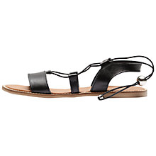 Buy Selected Femme Greve Lace Up Leather Sandals Online at johnlewis.com