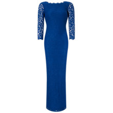 Buy Adrianna Papell Long Sleeve Lace Gown Online at johnlewis.com