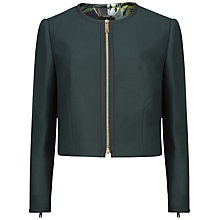 Buy Ted Baker Nuha Cropped Cocoon Jacket Online at johnlewis.com