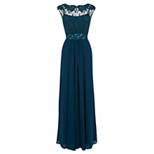 Buy Coast Lori May Maxi Dress, Kingfisher Online at johnlewis.com
