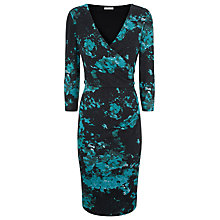 Buy Kaliko Winter Floral Knitted Dress, Multi/Green Online at johnlewis.com