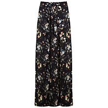 Buy Oasis Woodland Print Maxi Skirt, Assorted Online at johnlewis.com