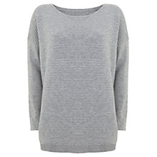 Buy Mint Velvet Oversized Tunic, Grey Online at johnlewis.com