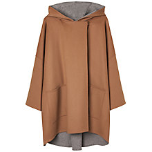 Buy Gerard Darel Bobby Voluminous Woollen Coat, Camel/Light Grey Online at johnlewis.com