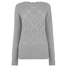 Buy Oasis Pretty Pointelle Cosy Jumper Online at johnlewis.com