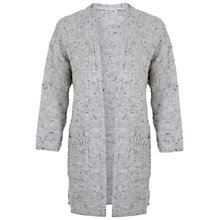 Buy Miss Selfridge Oatmeal Stitch Cardigan, Grey Online at johnlewis.com