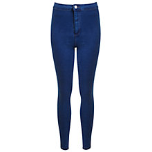 Buy Miss Selfridge Steffi Skinny Jeans, Mid Wash Denim Online at johnlewis.com