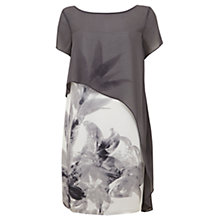 Buy Mint Velvet Kyra Print Cape Dress, Multi Online at johnlewis.com