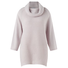 Buy Jigsaw Ribbed Long Cowl Sweater Online at johnlewis.com