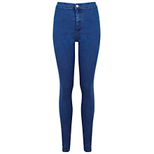 Buy Miss Selfridge Denim Skinny Steffi Jeans, Mid Wash Online at johnlewis.com