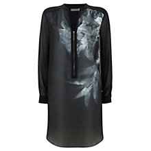 Buy Mint Velvet Hayley Zip Tunic, Grey Online at johnlewis.com