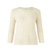 Buy Jigsaw Sparkle Half Sleeve Sweater Online at johnlewis.com