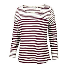 Buy Fat Face Odiham Stripe Top Online at johnlewis.com
