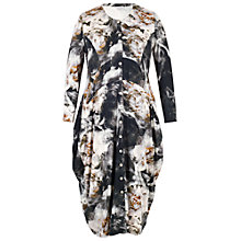 Buy Chesca Copper Rise Print Jersey Dress, Black Online at johnlewis.com