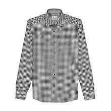 Buy Reiss Cardinal Geometric Print Slim Fit Shirt, Black/White Online at johnlewis.com
