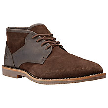Buy Timberland Brooklyn Park Lace-Up Chukka Boots, Potting Soil Online at johnlewis.com