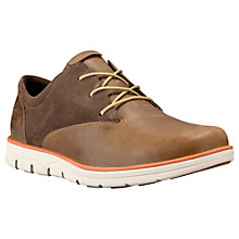Buy Timberland Bradstreet Oxford Leather Lace-Up Shoes, Wood Thrush Online at johnlewis.com