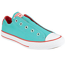 Buy Converse Chuck Taylor Classic Slip Shoes, Blue Online at johnlewis.com
