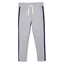 Buy Mango Kids Boys' Contrast Stripe Joggers, Grey Online at johnlewis.com
