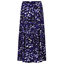 Buy Windsmoor Panelled Printed Midi Skirt, Purple/Multi Online at johnlewis.com