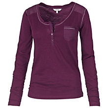 Buy Fat Face Henley Pyjama Top Online at johnlewis.com