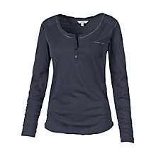 Buy Fat Face Henley Pyjama Top, Nightshade Online at johnlewis.com