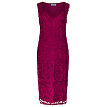 Buy Windsmoor Cornelli Dress, Raspberry Online at johnlewis.com