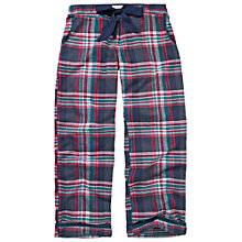 Buy Fat Face Linear Checked Pyjama Bottoms, Twilight Online at johnlewis.com
