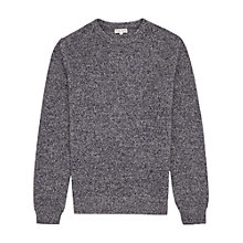 Buy Reiss McKay Melange Wool Jumper Online at johnlewis.com