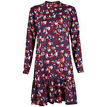 Buy Closet Floral Peplum Hem Dress, Multi Online at johnlewis.com