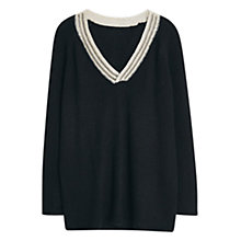 Buy Violeta by Mango Wool-Blend Jumper Online at johnlewis.com