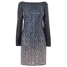 Buy Coast Ella All Over Sequin Dress, Navy Online at johnlewis.com