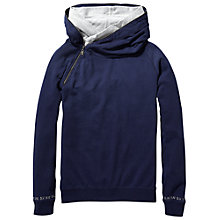 Buy Maison Scotch Home Alone Double Hoodie, Navy Online at johnlewis.com