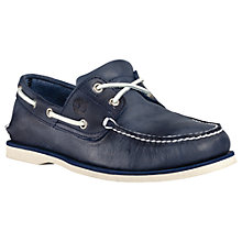 Buy Timberland Earthkeepers Classic 2-Eye Boat Shoes, Navy Online at johnlewis.com