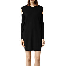 Buy AllSaints Merino Wool Elion Jumper Dress Online at johnlewis.com