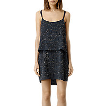 Buy AllSaints Ales Dress, Gun Metal Online at johnlewis.com