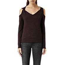 Buy AllSaints Wool Neri Jumper Online at johnlewis.com