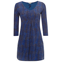 Buy White Stuff Poppy Jersey Tunic, Ultraviolet Blue Online at johnlewis.com
