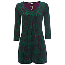 Buy White Stuff Poppy Jersey Tunic, Decadent Green Online at johnlewis.com