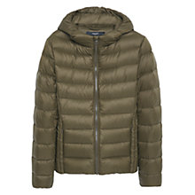 Buy Mango Quilted Feather Coat Online at johnlewis.com