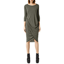 Buy AllSaints Warp Sleeve Dress Online at johnlewis.com